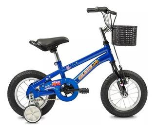 Bicicleta Olmo Rodado 12 Cosmo Pets Nene Varón