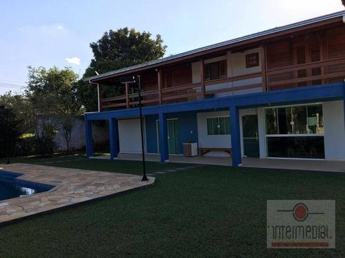 Chácara Com 6 Dormitórios À Venda, 1000 M² Por R$ 690.000,00 - Vale Das Orquideas - Iperó/sp - Ch0589