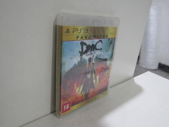 Dmc Devil May Cry Ps3 Mídia Física Novo Lacrado