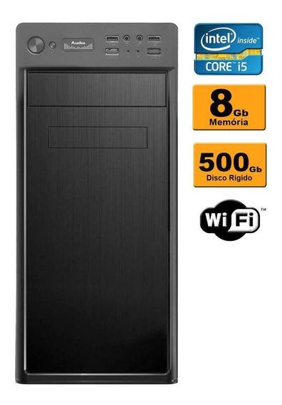 Desktop Cpu Intel Core I5 8gb 500gb Gravador