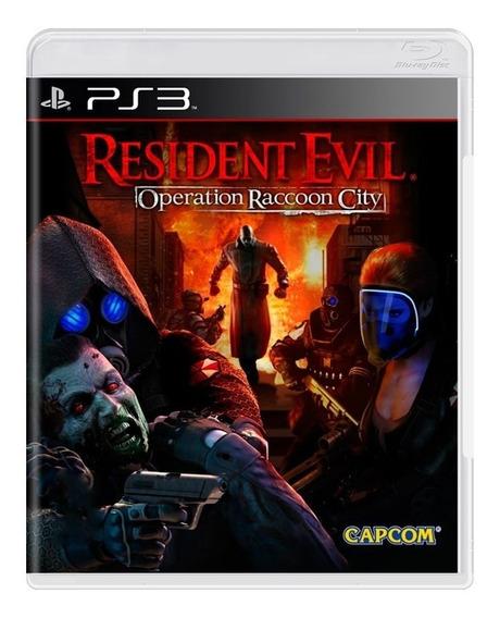 Resident Evil Operation Raccoon City Ps3   Sem Caixinha