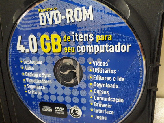 Dvd 4.0 Gb De Itens Para Seu Computador