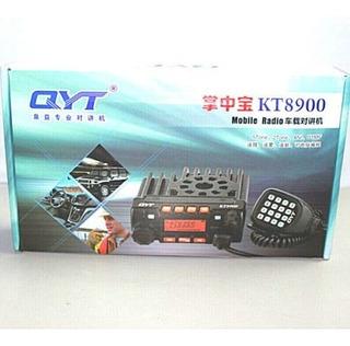 Qyt Kt-8900 Con Antena Dual Band Y Base De Uña