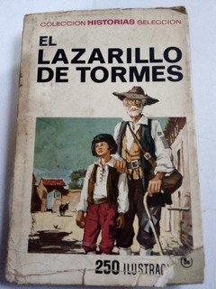 Libro Antiguo 1973 El Lazarillo De Tormes Ilustrado Bruguera