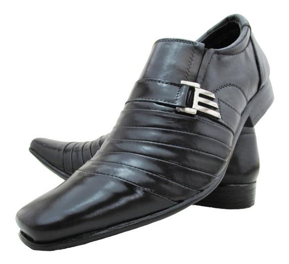 Sapato Social Masculino Em Couro Legítimo Promoçãol!