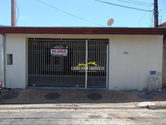 Casa Com 2 Dormitórios Para Alugar, Por R$ 800/mês - Jardim Paz - Americana/sp - Ca2362