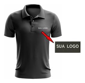 Camisa Kit 3 Polos Bordadas Com Sua Logo