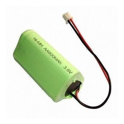 Bateria 3,6v 600mah Aa Ni-mh Com Plug Universal