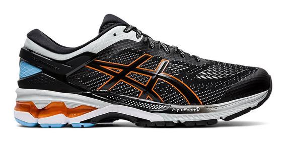 Zapatillas Running Asics Gel Kayano 26 Negro/naranja Hombre