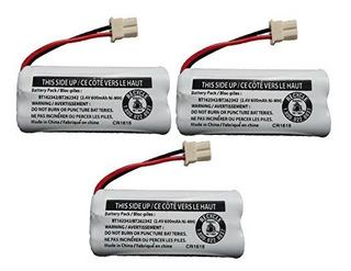 Batería De Repuesto Bt162342 / Bt262342 Para Teléfonos Inal