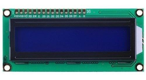 Display Lcd 16x2 Backlight Azul 1602 Hd44780 Arduino