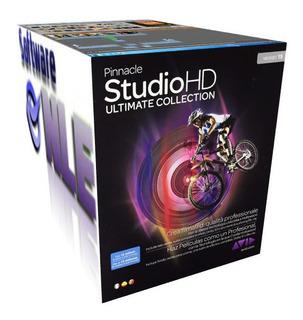 Pinnacle 15 Studio Para Windows 10 + Efectos Bonus Content