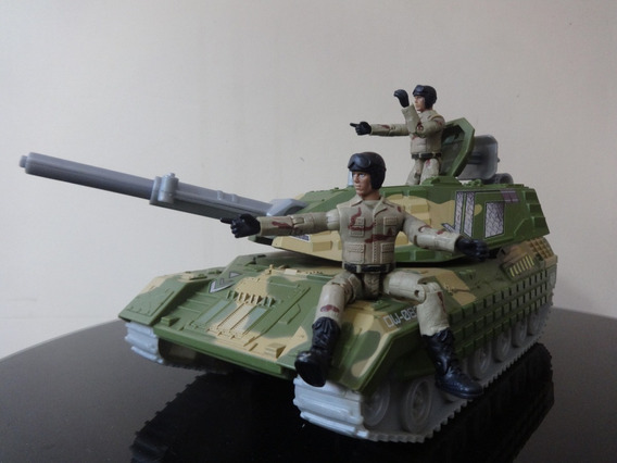 Tanque De Guerra Escala G.i Joe/ Comandos Em Ação 10cm