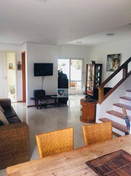 Casa 3 Dormitórios - Scenic, Santana De Parnaíba. - Ca0386