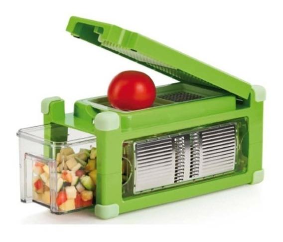 Rebanador Procesador Multiusos Nicer Dicer Magic Cube Verde