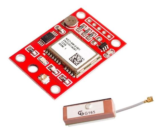 Módulo Gps Gy-neo6mv2 Neo-6m Arduíno Raspberry Drone