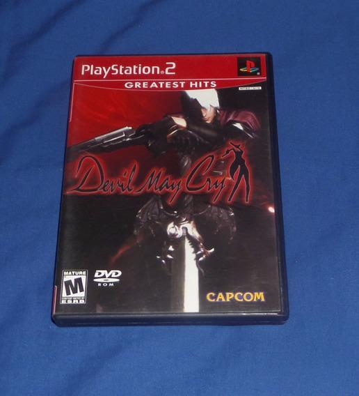 Devil May Cry Original Ps2 Excelente Estado