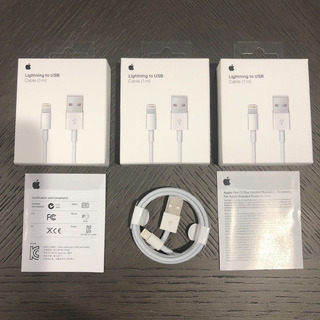 Cable Lightning Original Apple iPhone 5s 6 6s 7 8 Plus X