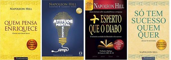 Só Tem Sucesso Quem Quer + Atitude Mental Postiva + 2 Livros