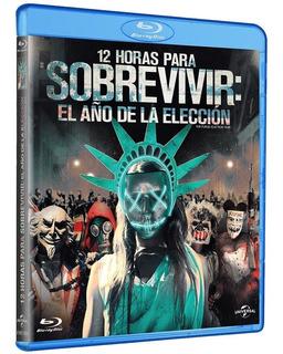 12 Horas Para Sobrevivir El Año De La Eleccion Blu Ray Nuevo