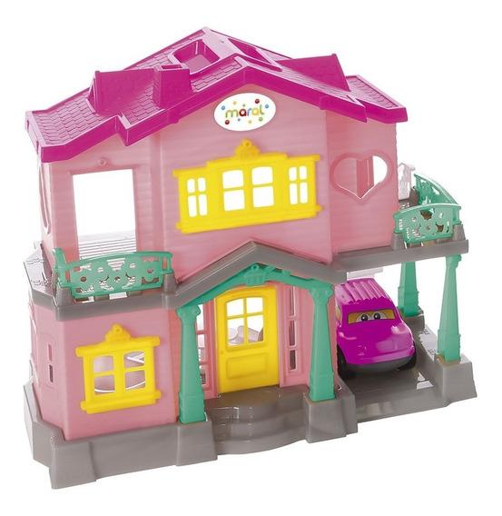 Brinquedo Infantil Sweety Home - Casinha De Bonecas - Maral
