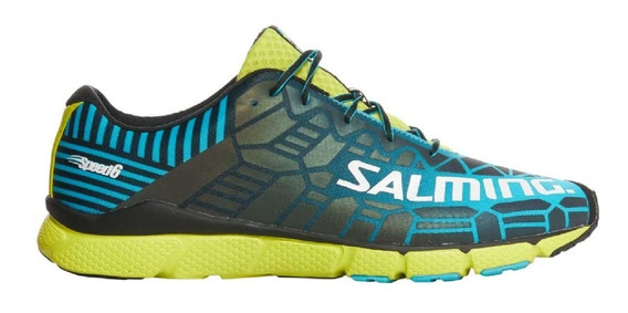 Zapatilla Salming Salming Speed 6 Blue Lime