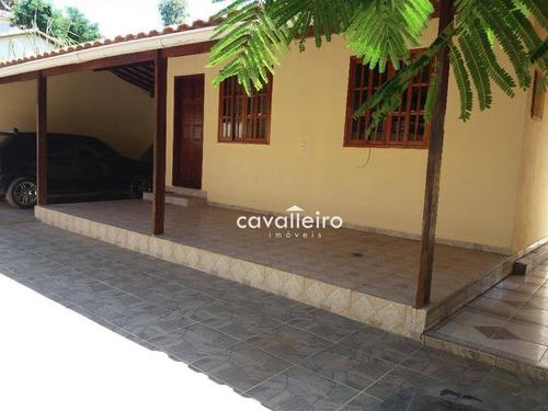 Casa Residencial À Venda, Parque Nanci, Maricá. - Ca2856