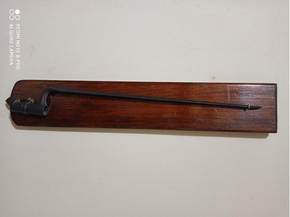 Bayoneta De Cubo Triangular Para Fusil Remington Patria