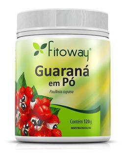 Guaraná Em Pó 120g - Fitoway - Estimulante Natural