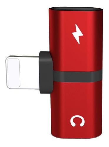 Splitter Lightning Carga Y Audio Para iPhone 11/x/8/7/6/5