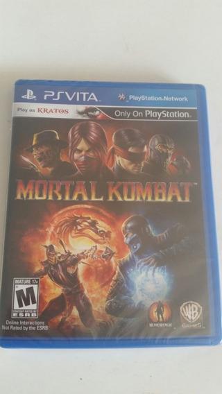 Jogo Ps Vita Mortal Kombat - Oirginal Lacrado