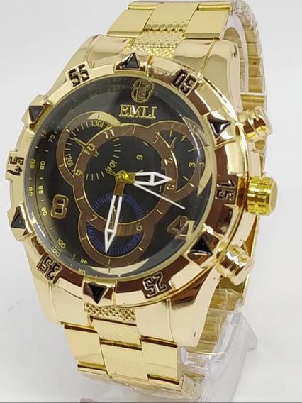 Relógio Emli Dourado