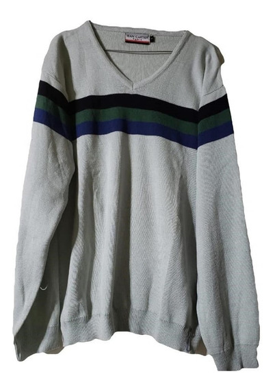 Sweater Lana Hombre, Escote En V , T Especial 1