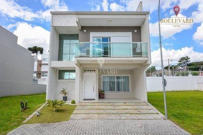 Casa Em Condomínio 3 Quartos , Edicula No Uberaba - Ca0088