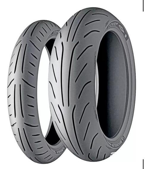 Par Pneu 130/60-13 + 150/70-13 Michelin Power Pure Sc