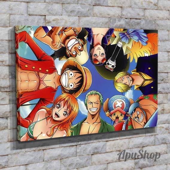 Cuadros Canvas 60x40 One Piece Animé Manga Dibujos Animados