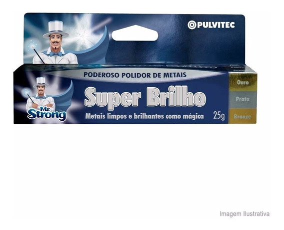 Super Brilho Mr. Strong 25g Pulvitec Pulvitec