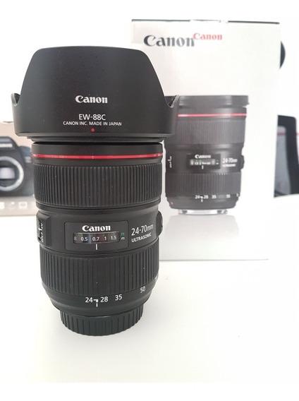 Lente Canon 24-70 Mm F 2.8l Ii Usm