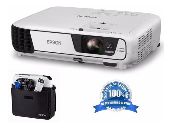 Projetor Epson Powerlit X36 = X41 3600 Lumens - 3lcd - Wifi