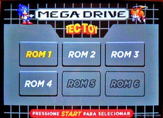 Cartão Sd Com Mais De 500 Jogos Para Megadrive