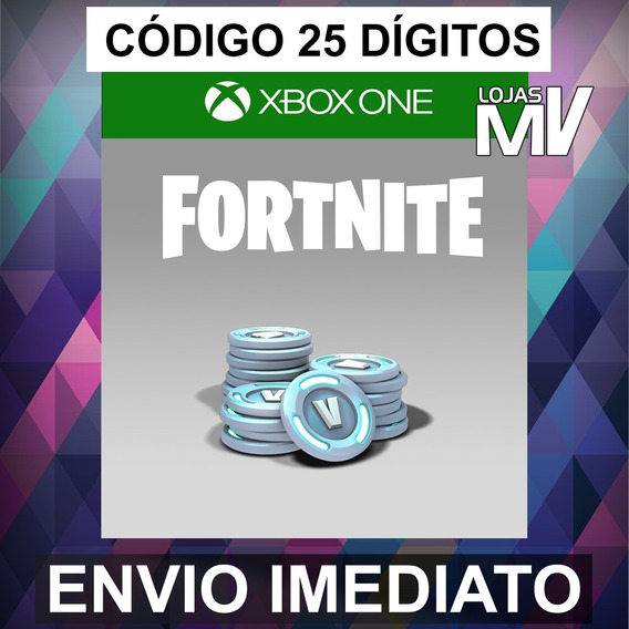 Fortnite 13500 V-bucks Código De 25 Digitos Xbox One