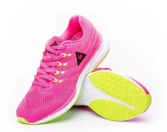 Zapatillas Niñas Le Coq Sportif Fierce Jr Pink Lime
