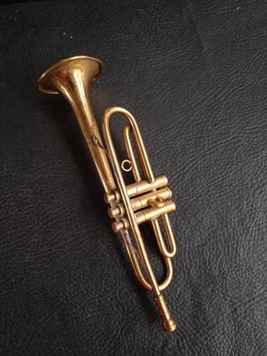 Imagen 1 de 8 de Trompeta Antigua Miniatura