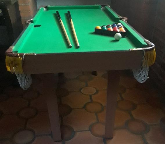 Mini Mesa De Pool Con Todos Sus Accesorios