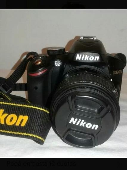 Camara Reflex Nikon D3200 -2540 Disparos-