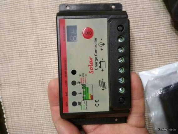 Controlador De Carga Paineis Solares Regulador De Tensão 20a