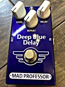 Pedal Delay Mad Professor Deep Blue Delay - High Voltage