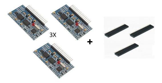 3x Módulo Inversor Senoidal Egs002 Ir2113s + Barra Pino