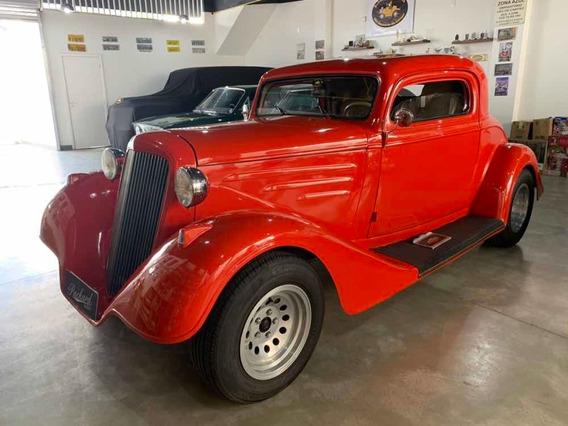 Hot Rod Chevrolet 1933 - Vermelho - Impecável