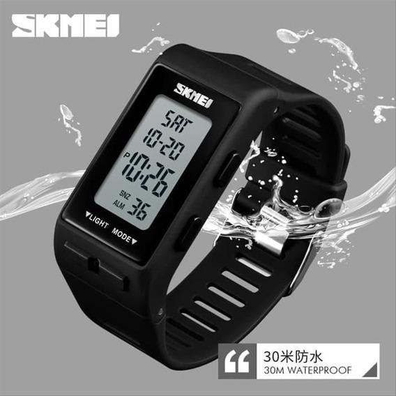 Relógio Digital Esportivo Led Skmei 1362